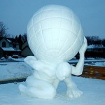 snow-sculpture